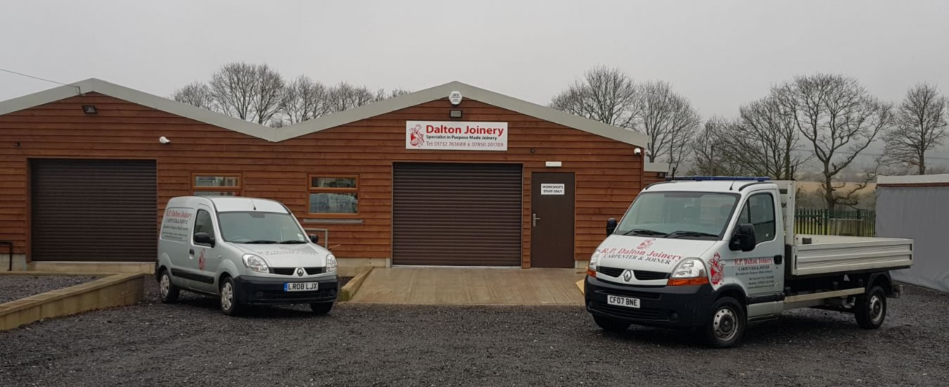 Rain or Shine, Dalton Joinery are here to Deliver